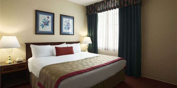 Handicapped King Room at Ramada by Wyndham Ligonier