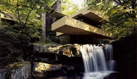 Frank Lloyd Wright's Fallingwater Guided Tour Package of Ligonier Hotel